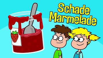 ♪ ♪ Kinderlied Marmelade - Schade Marmelade - Hurra Kinderlieder
