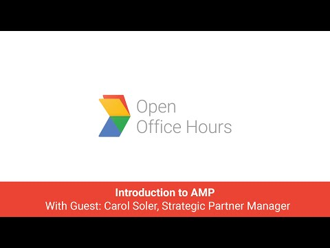 News Lab Portuguese AMP Office Hour: Introduction to AMP with Carol Soler, Strategic Partner Manager