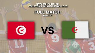 LIVE  TUN - ALG | CAVB Men's Tokyo Volleyball Qualification 2020