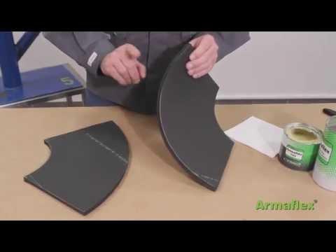 Armaflex Sheet Two Part Bend 90 Application Video Youtube