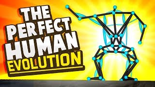 THE MOST PERFECT HUMAN DESIGN LEARNS TO JUMP IN GAME! - An Evolution Simulator - Evolution Gameplay
