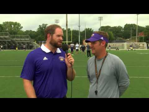 University of North Alabama Football Practice 8 17 2017