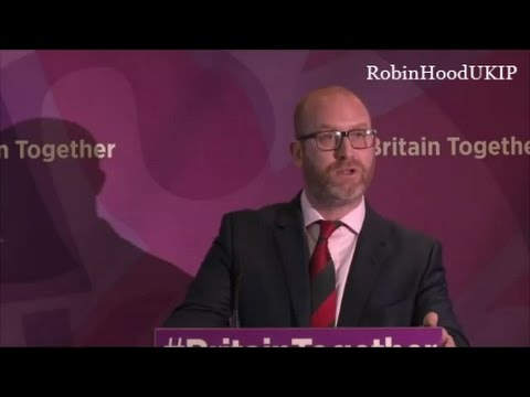 UKIP campaign launch with Paul Nuttall