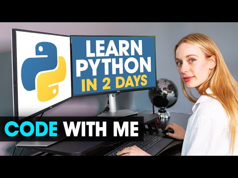 Learn Python With Me In 2 days | Code With Me