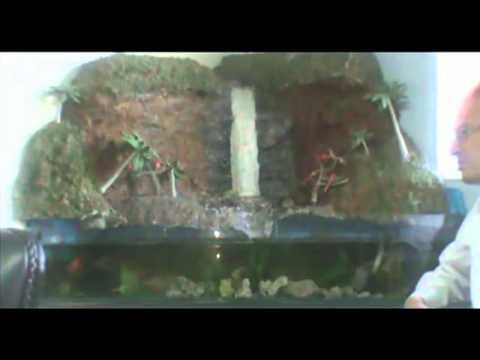 Cascada para peceras youtube for Motor para cascada de agua