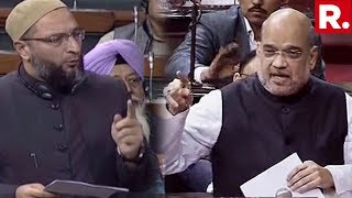 Home Minister Amit Shah Takes On Asaduddin Owaisi During NIA Bill Debate In Parliament
