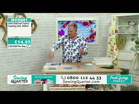 Sewing Quarter - Fresh Spring Makes (Odicoat and Home Decor) - 27th April 2017