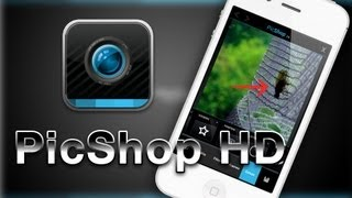 [for iOS] PicShop HD. Редактор фотографий