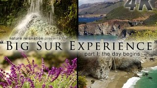"""The Big Sur 4K Experience: Part I: The Day Begins"" A Nature Relaxation Experience"