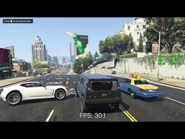Intel HD Graphics 610 -- Intel Pentium G4560 -- Grand Theft Auto V GTA V Benchmark