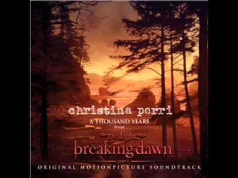 A Thousand Years  Christina Perri  Audio