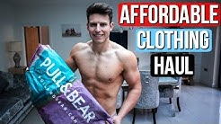 AFFORDABLE Pull & Bear Men's Clothing Haul