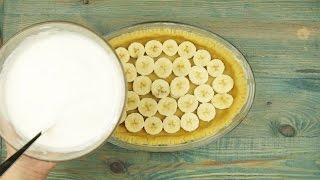 Банановый пирог - Рецепты от Со Вкусом