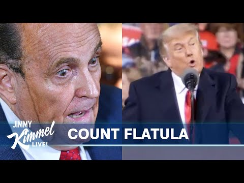 Giuliani Has COVID & Trump Has Pity Party