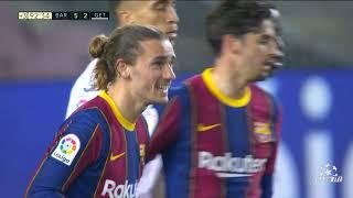 Barcelona vs Getafe 5:2   Golovi sa Utakmice HD   SPORT KLUB FUDBAL