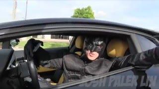 Такси с Бэтменом на Ламборгини #ЯСнимаю
