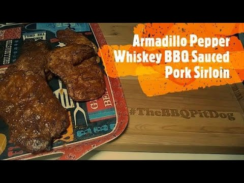 Armadillo Pepper Whiskey BBQ Sauce / Pork Sirloin Cutlets - YouTube