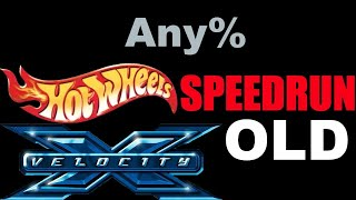 Hot Wheels Velocity X Any% Speedrun - 00:39:28
