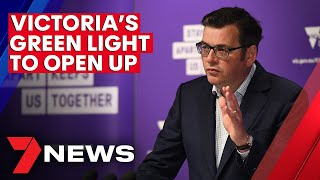 COVID-19: Victoria's green light to open up - Melbourne shops and pubs to reopen | 7NEWS