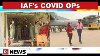 IAF Forms COVID Air Support Management Cell: Republic Exclusive Report From Palam Airbase