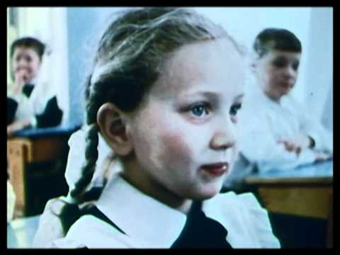 Russian education - part 1, the young and physical education  1968