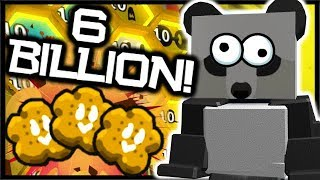 Spending 6 *BILLION* Honey, LEVEL 10 BEES & ROYAL JELLY! | Roblox Bee Swarm Simulator