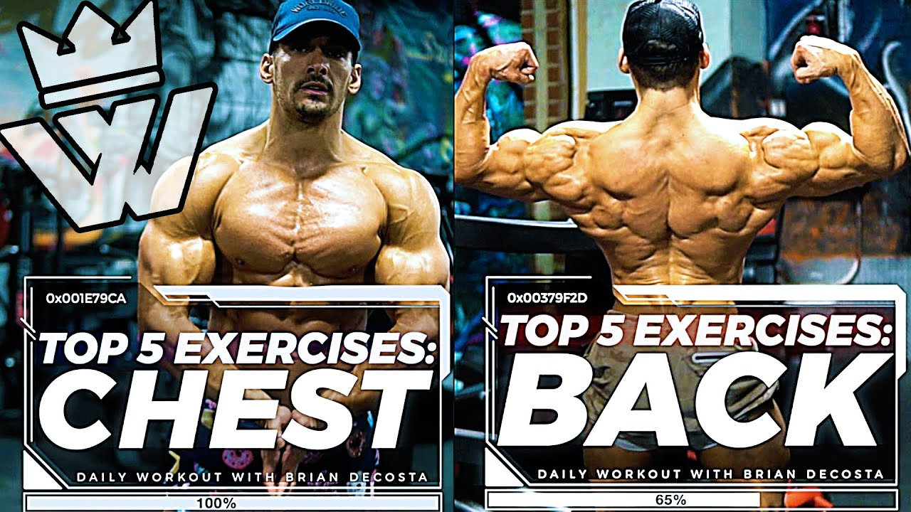 TOP 5 EXERCISES | BACK & CHEST