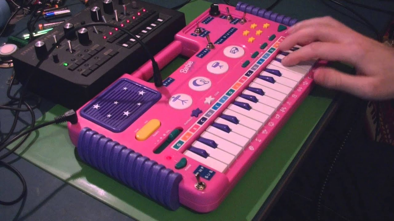 Circuit Bent Barbie Keyboard By Freeform Delusion Circuitbending Circuitbent Noise Toys Cementimental Youtube Premium