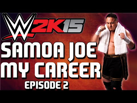 WWE2K15 My Career | Samoa Joe | 'Learning My Craft' #2