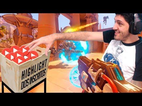 Reagindo aos Highlights dos Inscritos | Overwatch Brasil