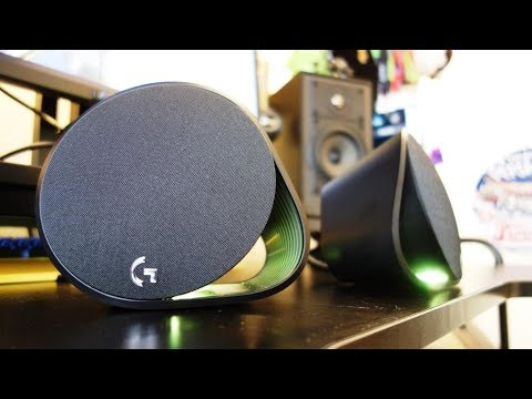 Logitech G560 review - The best RGB PC speakers ever - By TotallydubbedHD