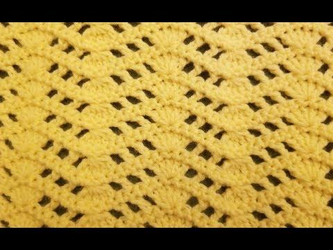 The Symmetry Wave Stitch Crochet Tutorial!