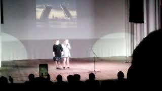 Смотреть видео Дворец пионеров.Концерт.Песня Россия онлайн