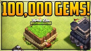 100,000 GEMS to Play Clash of Clans Again! Peter17$ RETURNS!
