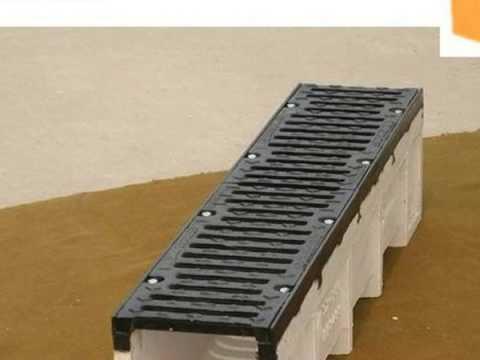 Sidewalk trench drains Supplier