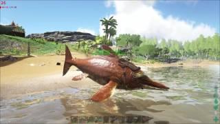 ARK Survival Evolved | Летающий ихтиозавр (баг)