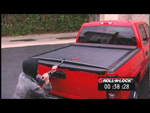 Ultimate Truck Presents Thief Proof Roll N Lock Tonneau Cover Youtube