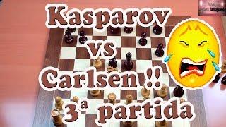Kasparov vs  Carlsen 3