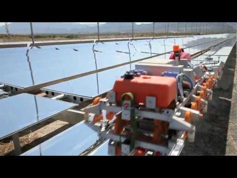 DESERTEC Foundation: The Worlds largest Fresnel CSP Plant Puerto Errado 2 (PE2)