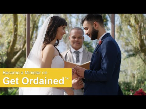Become A Minister Legally Officiate Weddings