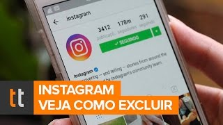 Como excluir seu Instagram