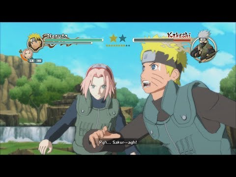 Naruto Ninja Storm 2 Trilogy PC MOD Walkthrough Part 1 60 FPS - Jonin Naruto Sakura vs Kakashi 1080p