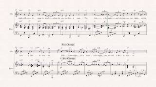 Oboe  - Bella Notte - Lady and the Tramp - Sheet Music, Chords, & Vocals