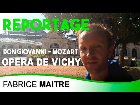 Coulisses opéra - Don Giovanni -  Mozart - Opera de vichy - Reportage / Fabrice Maitre