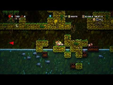 Spelunky Daily Challenge - 5-20-2018 - Mistakes Abound