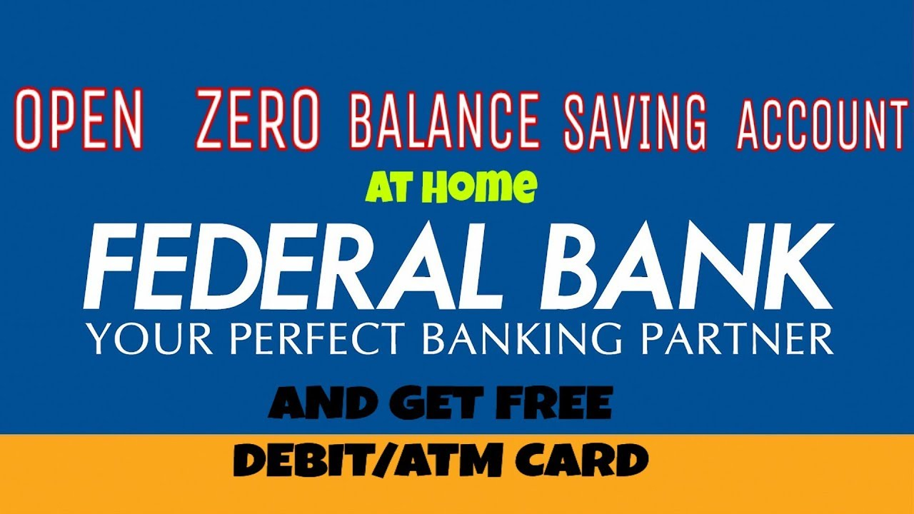 How To Get Open Saving Bank Account At Home Zero Balance Saving