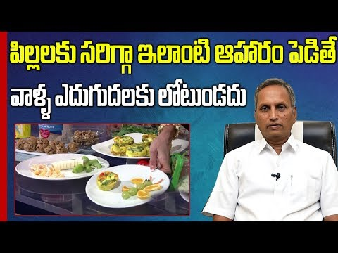 Children's Nutrition : How to Get a Child to Eat Healthy Foods    Dr Raghupati    SumanTV Mom
