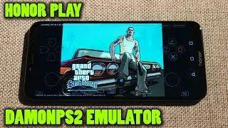 Honor Play - GTA San Andreas (PS2 Version) - DamonPS2 v3.0 - Test
