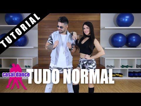 Tudo Normal - Mc Maneirinho | Casal Dance | TUTORIAL