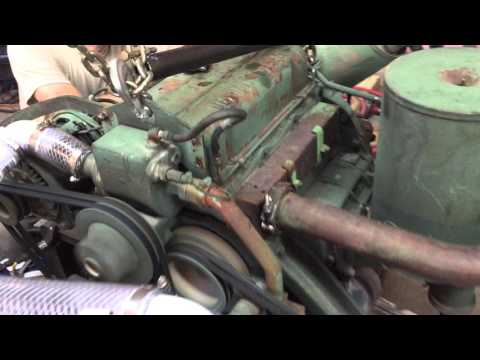 M561 Gama Goat Engine Ground Test